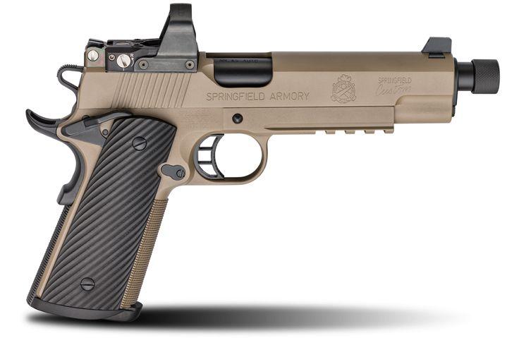 Springfield Armory Custom Silent Operator.