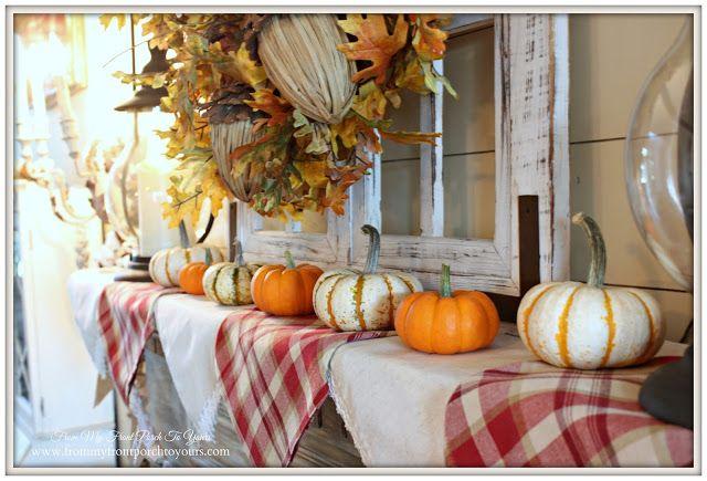 Farmhouse Decorating Ideas Pinterest: Best 25+ Fall Mantels Ideas On Pinterest