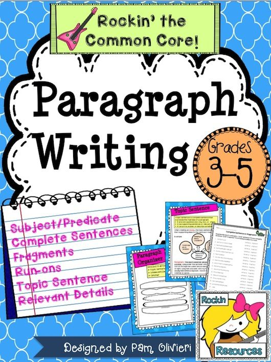 writing sentences and paragraphs examination number The following groups of sentences can be rearranged to form paragraphs make a note of the order in which they should be placed (eg b, d, c, a, e) and put a ring around the letter that corresponds to what you think is the topic sentence.