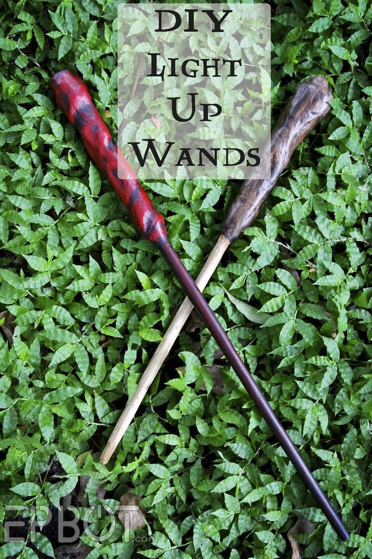 EPBOT: DIY Light-Up Wand Tutorial (for Harry Potter Cosplay!)