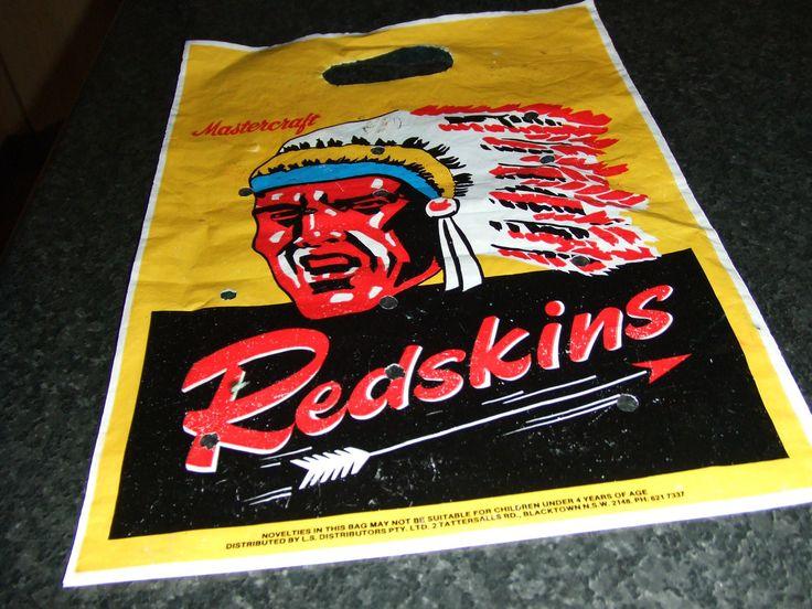 Melbourne Showbag From THE 70s Redskins | eBay
