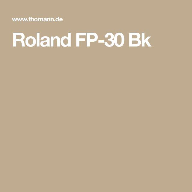 Roland FP-30 Bk