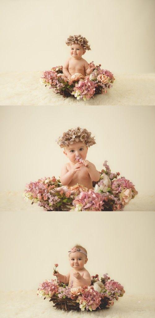 Chandler, AZ baby photographer 6 month sitter milestone photo session