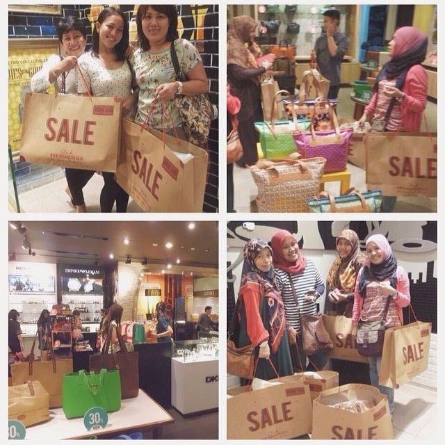 our happy customers during SALE