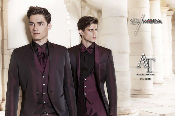 Collezione 2016 Angelotoma. Per uno sposo che ama apparire  con un abito raffinato e curato nei minimi dettagli..
