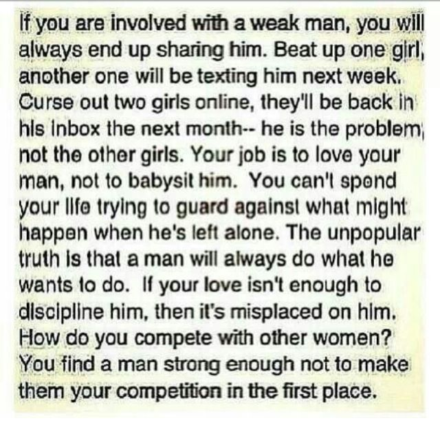 Signs Of A Weak Man In A Relationship