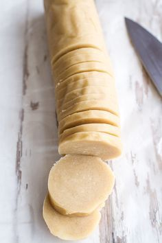 Easy Slice 'n' Bake Vanilla Bean Christmas Sugar Cookies w/Whipped Buttercream | halfbakedharvest.com @hbharvest