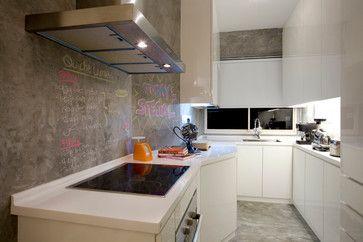 Urban White Canvas - contemporary - Kitchen - Other Metro - Urban Home