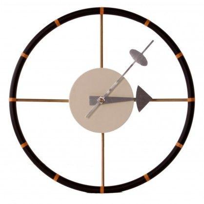 Zegar jest przede wszystkim wesołą i kolorową alternatywą dla zwykłych urządzeń mierzących czas. Przypominają rzeźby zachowując przy tym funkcjonalność. ZZegar Steering wheel wykonany jest z metalu i jak sama nazwa wskazuje, sw oim wyglądem przypomina kierownice.