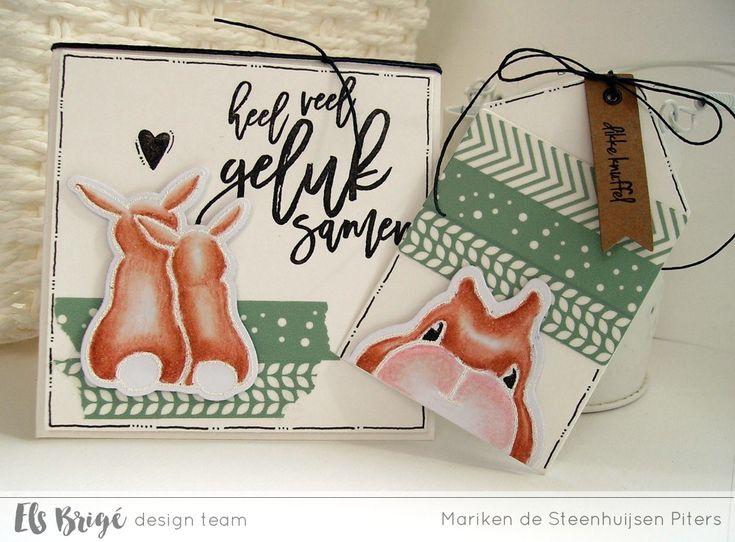 Geluk samen door Mariken de Steenhuijsen Piters voor Els Brigé design