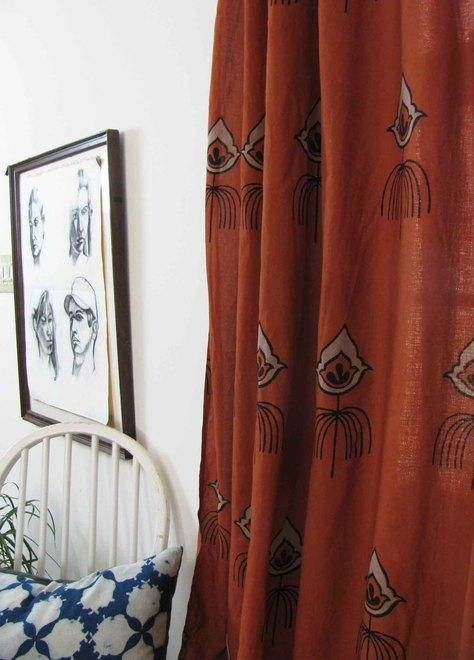 10+ Top Rust Curtains For Living Room