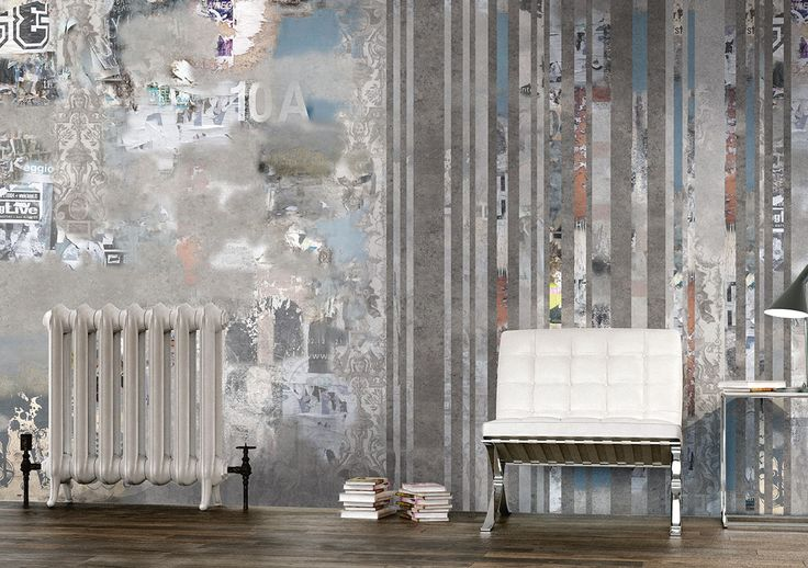 Carta da parati // Wall covering ideas by Glamora