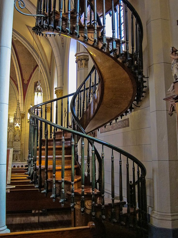 Best Loretto Chapel Staircase Staircases Pinterest 400 x 300