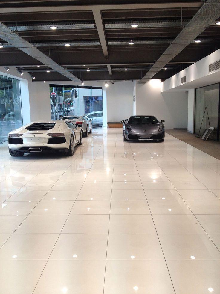Lamborghini Showroom and Caffe' -Cars arriving!!!