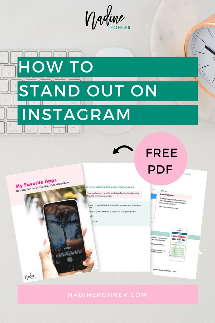 Start rockin' your Instagram with these insane easy to-use-Instagram Apps. Do you want your photos to get noticed? Create Insta-Stories with a WOOOW-Effect? #Instagram #socialmedia #socialmediamarketing #bossbabe