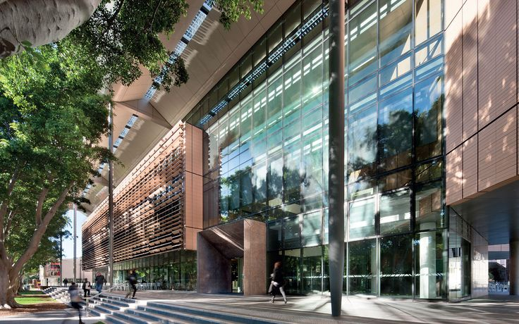 Main entry and podium, Tyree Building, UNSW Australia