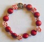 Decade Rosary Bracelet.