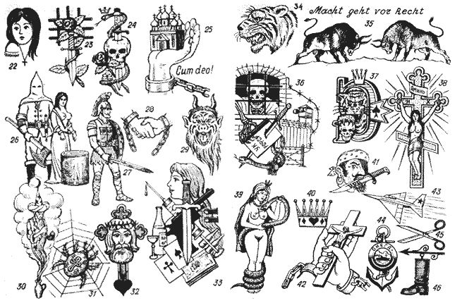 POZD: Russian criminal tattoo