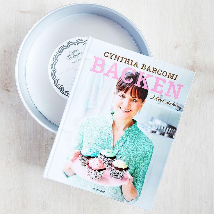 Cynthia Barcomi Buch :: I love baking Set mit Biskuitbodenform