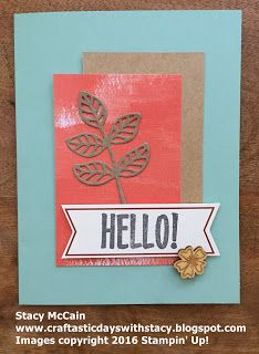 August 2016 Paper Pumpkin - Bold Botanicals; #stampinup; Craftastic Days with…