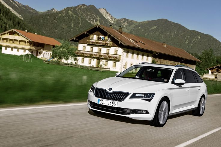 The New ŠKODA Superb Combi. Extremely generous space, a timelessly elegant design, modern, tried-and-tested technology, a top level of comfort, maximum safety, optimum functionality and very good value for money #newsuperbcombi #skoda