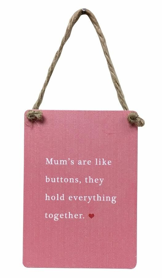 Check out new Quirky Gifts now online: Mums Are Like But... See it out here! http://www.feelingquirky.co.uk/products/mums-are-like-buttons-they-hold-everything-together-pink-mini-metal-sign?utm_campaign=social_autopilot&utm_source=pin&utm_medium=pin