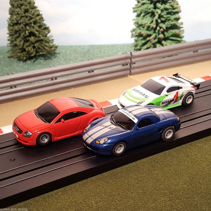 Now available in our store: Micro Scalextric ... Check it out here http://www.actionslotracing.co.uk/products/micro-scalextric-1-64-cars-red-audi-tt-nissan-350z-1-blue-porsche-boxster?utm_campaign=social_autopilot&utm_source=pin&utm_medium=pin