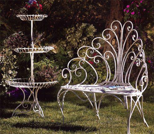Bench And Etagere · Lawn FurnitureUnique FurnitureOutdoor ...