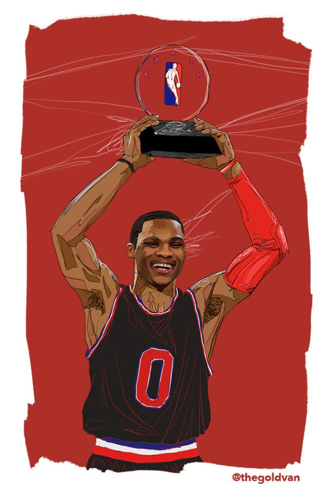 russell westbrook illastrastion | ... Drafted (6/26/08) - Timeline of Russell Westbrook's Career | Complex