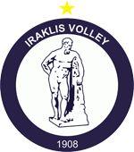 Iraklis Volleyball logo.png