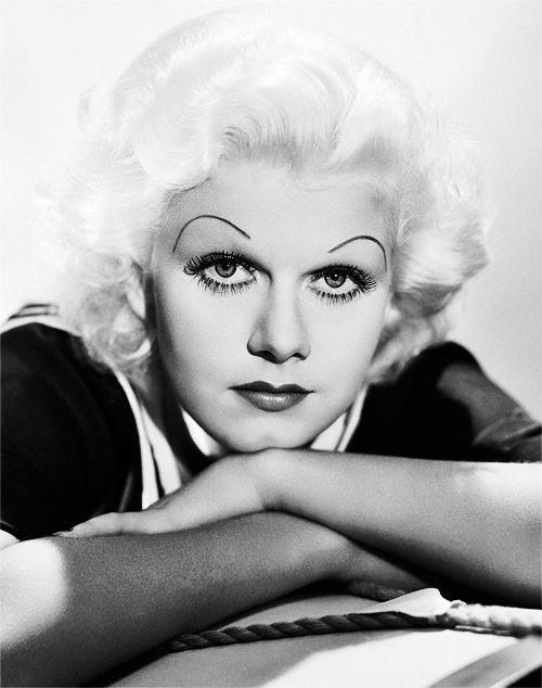 Jean Harlow, 1930s.: Classic Movie, Bombshell Jean, 1930S, Chola Eyebrows, Jeans, Epic Eyebrows, Jean Harlow, Epic Fail Eyebrows