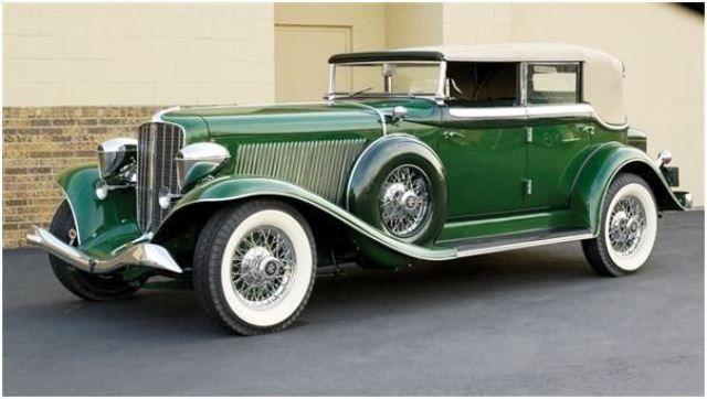 1934 Auburn Twelve Salon Phaeton Sedan