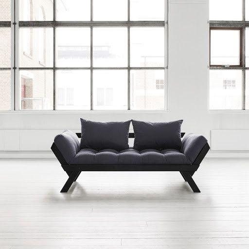 Sofa Bebop, czarna/szara   Bonami