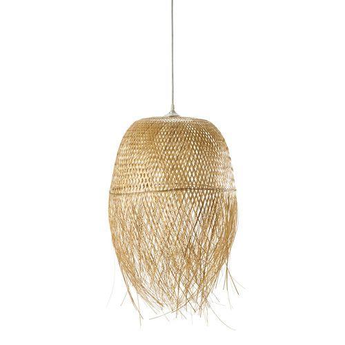 Lampada a sospensione non elettrificata intrecciata D 42 cm PANAMA