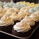 Wedding Cupcake Buttercream Recipe | Recipe Girl ~ wonder if this would work better here than the other butter-cream recipes I've tried.