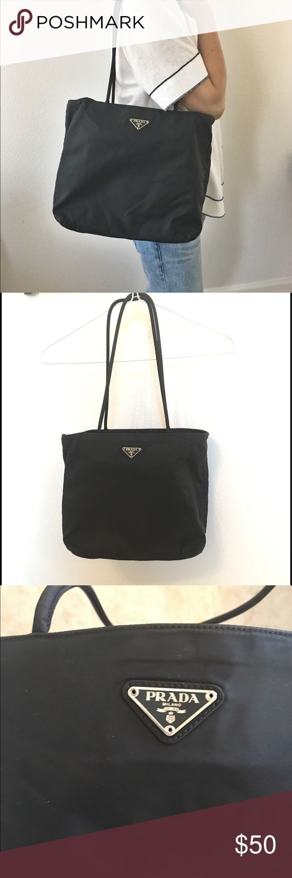 nylon tote bags with zipper closure