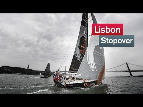 Lisbon leg start highlights | Volvo Ocean Race 2014-15 | 7/05/2015 Leg 8 kicked off on a humid Lisbon afternoon, with really tricky and light wind conditions! Here's a look back at the action from the departure, as the fleet set out from Lisbon to Lorient. #Portugal