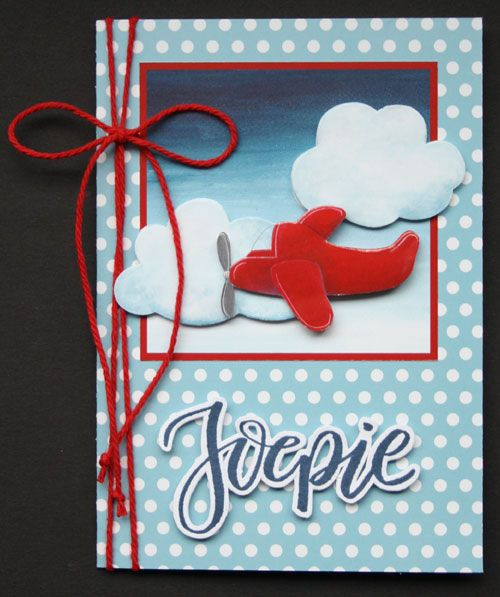 Marjolein ontwierp een vrolijk paperbook. In dit blogbericht zie je 4 kaarten, die Marjolein maakte met de afbeeldingen en dessin-vellen uit dit boek.