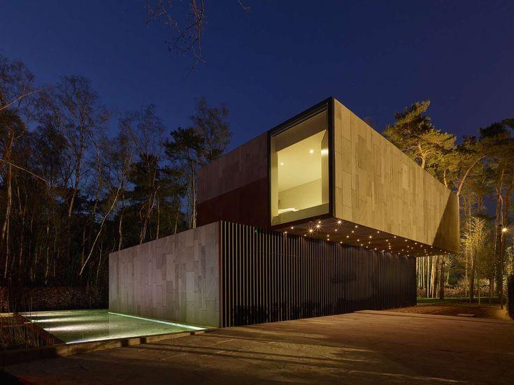 Woning met respect voor het bos te Lokeren - Woningbouw - EX-IT Architectuur geeft vorm aan energetische projecten - EX-IT Architectuur