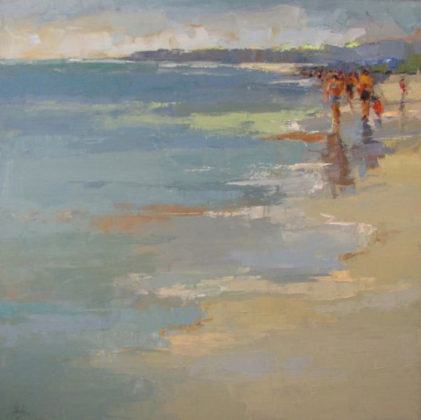 Barbara Flowers - Anne Irwin Fine Art this is such a GREAT composition. also SQUARE FAV... I LOVE, LOVE IT...