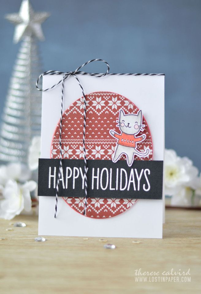 Video : Same But Different Christmas Card Series – The Cats of ...