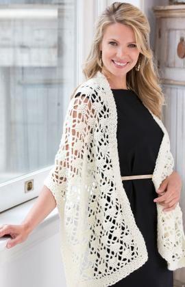 Lacy Wrap: free pattern