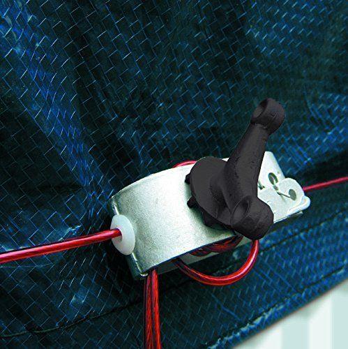 Manufacturas Gre CIPROV731 – Bâche hiver pour piscine ovale de 730 x 375 ou en huit de 640 x 390: Cette bâche protégera votre piscine…