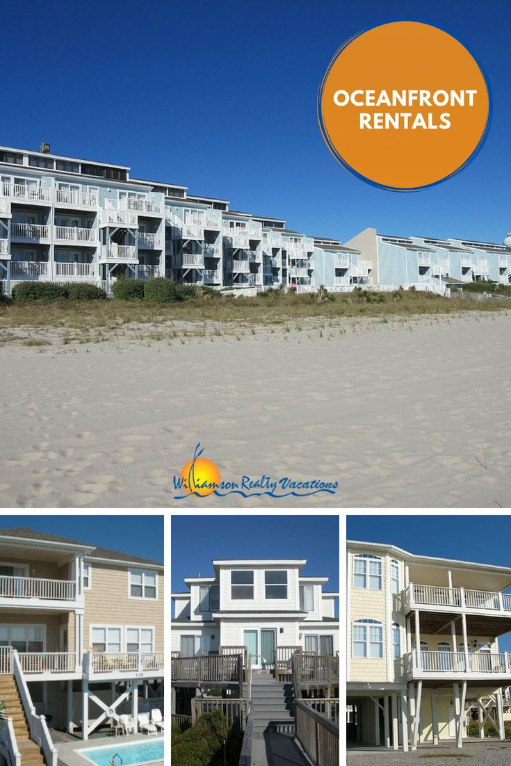 Oceanfront Vacation Homes In Ocean Isle Beach Nc Near Myrtle Sc Take A Look At The Best That Oib Has To Offer On Budget