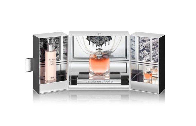 Le Coffret Luxueux La Vie Est Belle de Lancôme, Edition Noël 2014 - Noël 2014: Les plus beaux coffrets maquillage, parfum, vernis et soin
