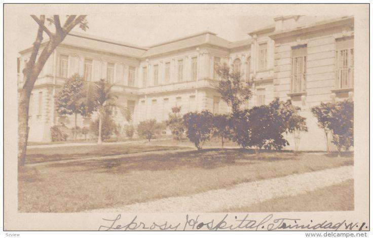 RP: Leprosy Hospital , TRINIDAD W.I. , 00-10s - Delcampe.com