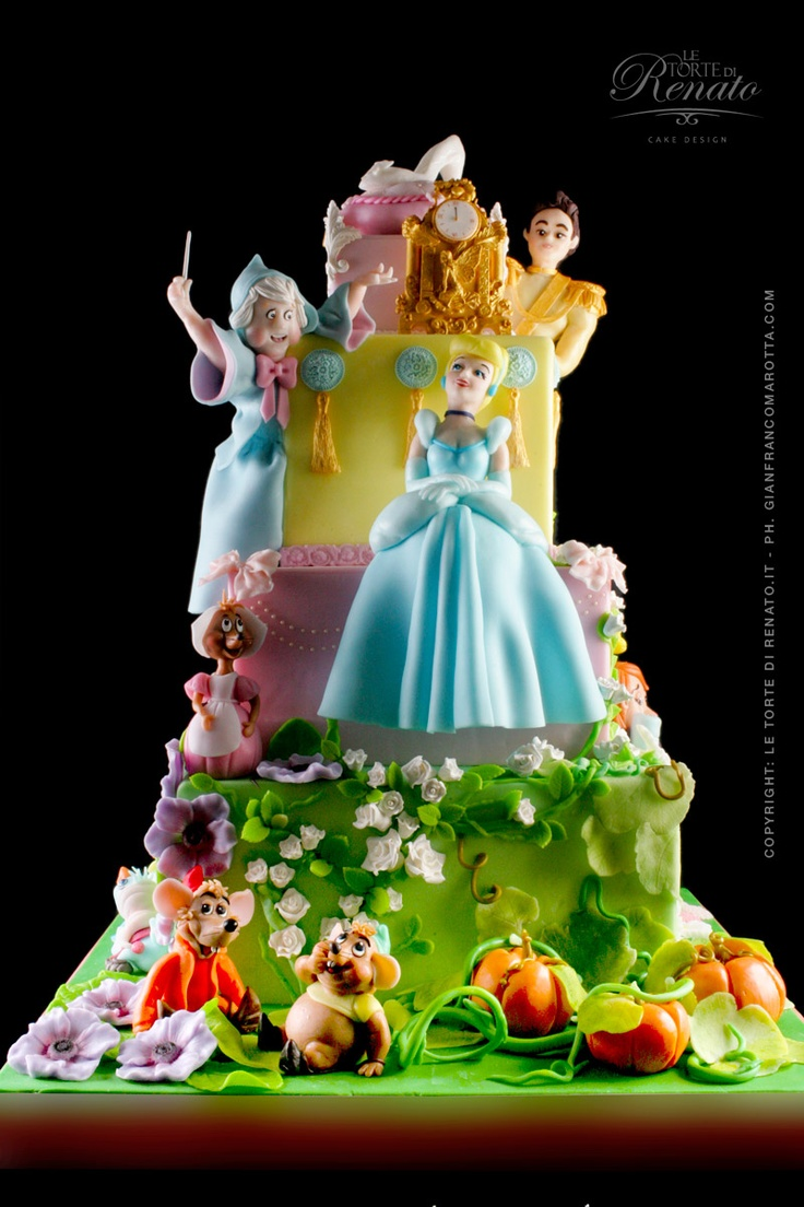 Cinderella Cake - For all your cake decorating supplies, please visit craftcompany.co.uk