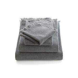 Gypsy Travel Dress Your Wagon  Design Inspiration-Fringe Grey Bath Towels