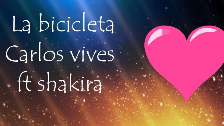 La bicicleta- Carlos Vives ft Shakira Letra