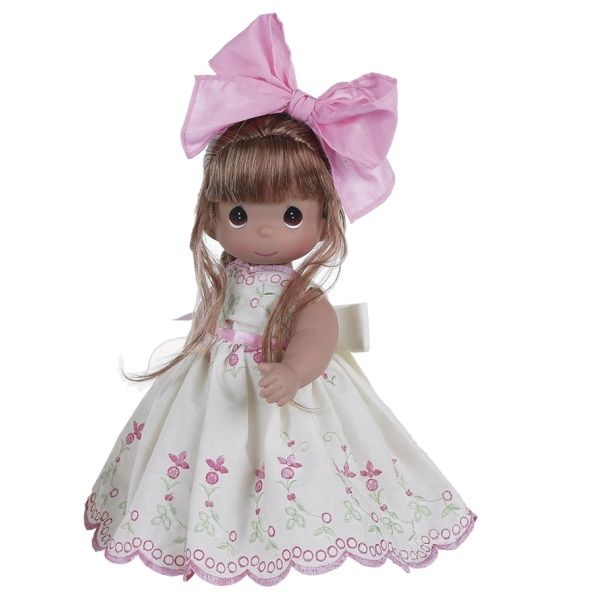 Prices of Precious Moments Dolls | Always a Tomorrow, Brunette - 12in Precious Moments Doll, 4699